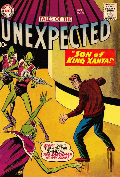 Cover for Tales of the Unexpected (1956 series) #42