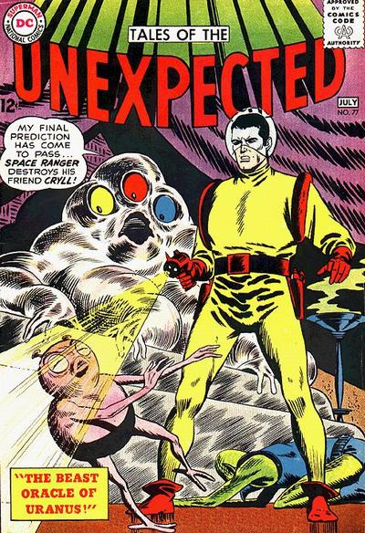 Cover for Tales of the Unexpected (DC, 1956 series) #77