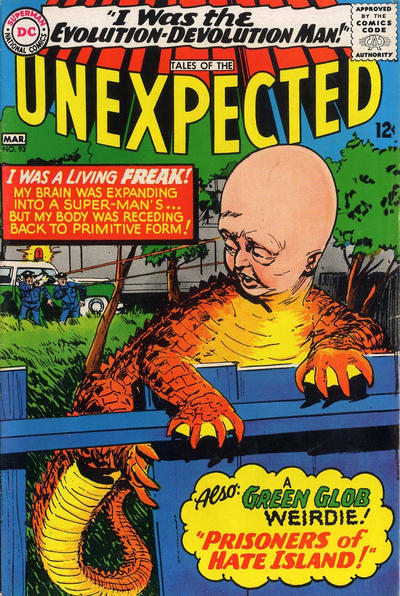 Cover for Tales of the Unexpected (1956 series) #93