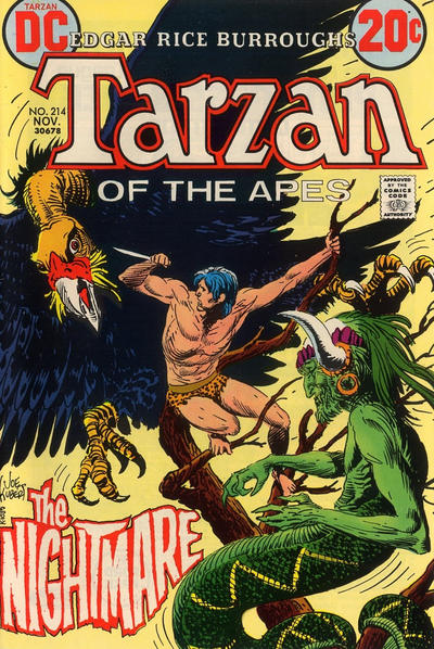 Cover for Tarzan (1972 series) #214