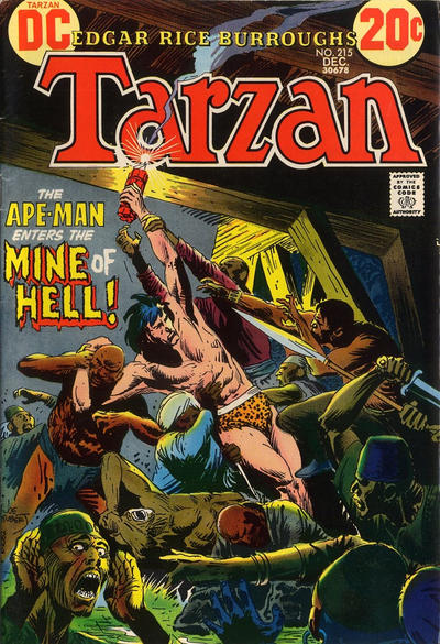 Cover for Tarzan (DC, 1972 series) #215