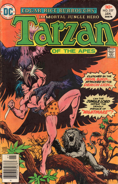 Cover for Tarzan (1972 series) #257