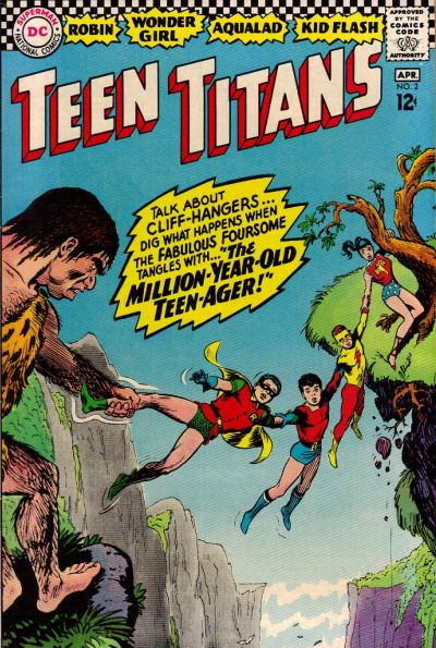 Cover for Teen Titans (DC, 1966 series) #2