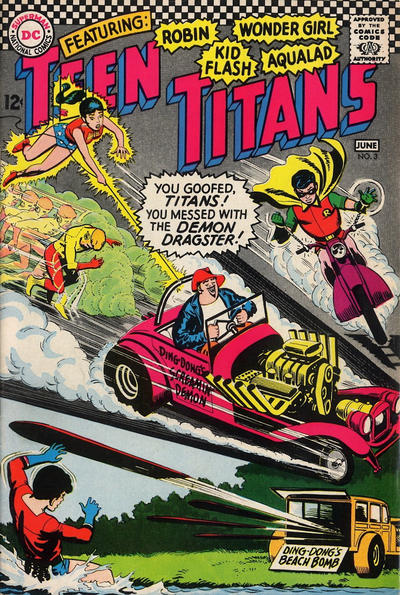 Cover for Teen Titans (DC, 1966 series) #3