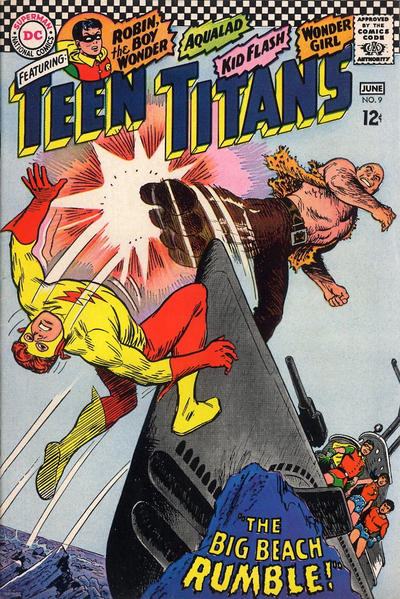 Cover for Teen Titans (DC, 1966 series) #9