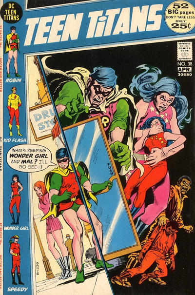 Cover for Teen Titans (DC, 1966 series) #38