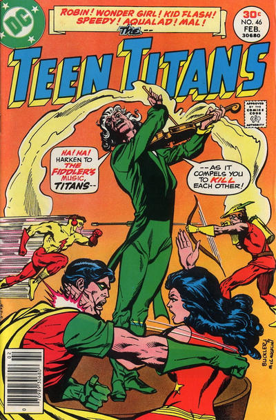 Cover for Teen Titans (DC, 1966 series) #46