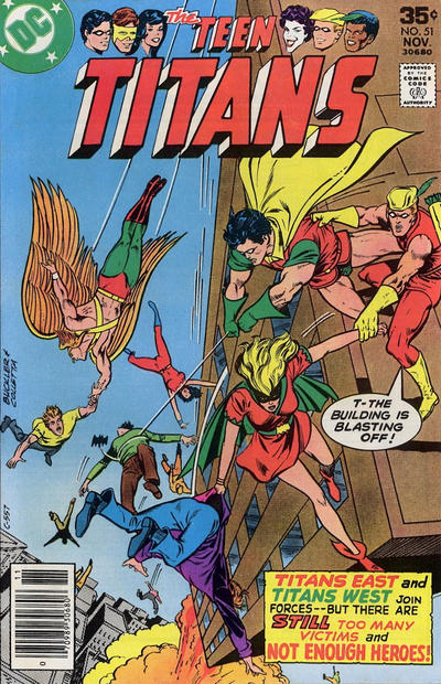 Cover for Teen Titans (1976 series) #51
