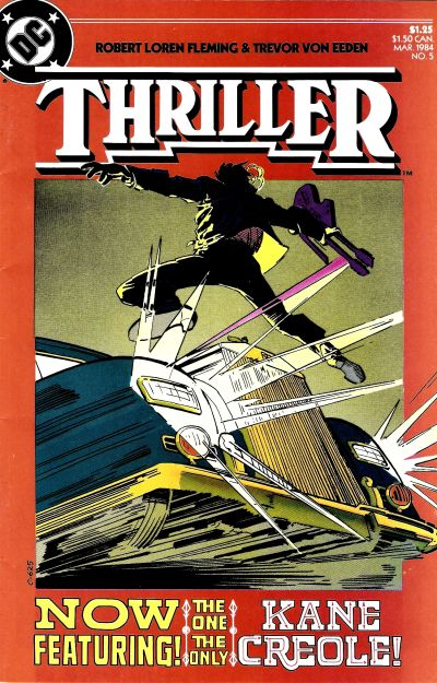 Cover for Thriller (1983 series) #5