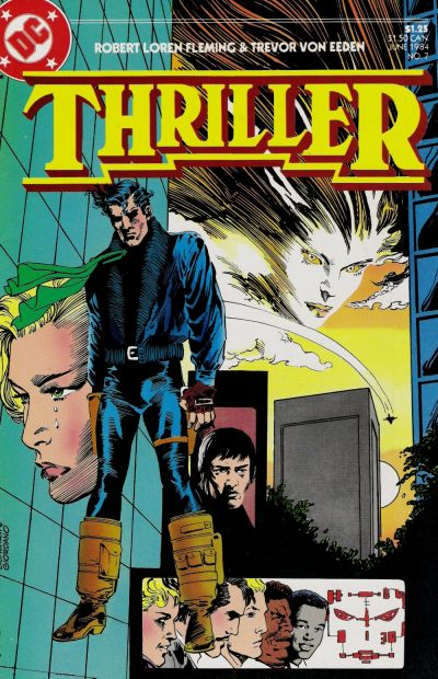 Cover for Thriller (1983 series) #7