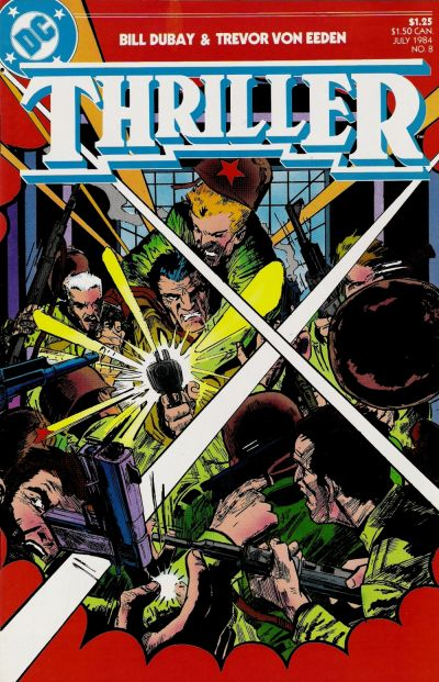 Cover for Thriller (1983 series) #8