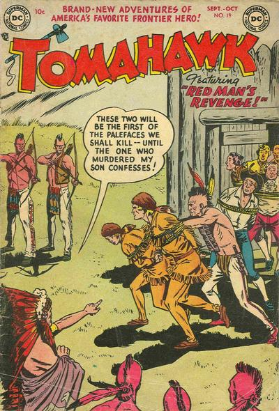 Cover for Tomahawk (1950 series) #19