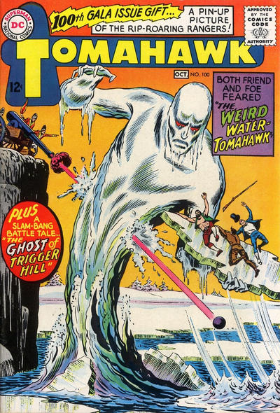 Cover for Tomahawk (DC, 1950 series) #100