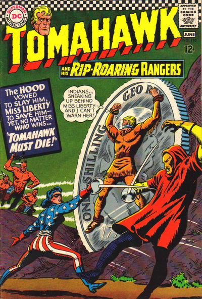 Cover for Tomahawk (DC, 1950 series) #110