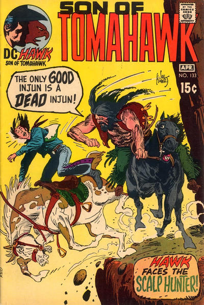 Cover for Tomahawk (1950 series) #133