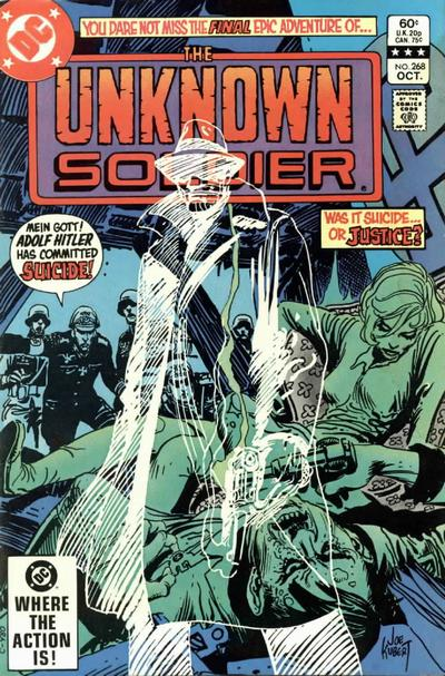 Cover for Unknown Soldier (DC, 1977 series) #268 [Canadian Newsstand]