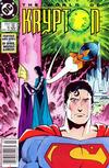 Cover for World of Krypton (DC, 1987 series) #4 [Newsstand Edition]