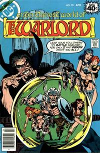 Cover for Warlord (DC, 1976 series) #20