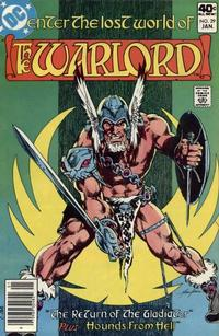 Cover for Warlord (DC, 1976 series) #29