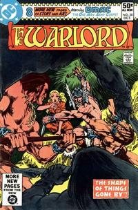 Cover for Warlord (1976 series) #38