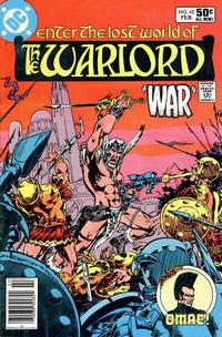 Cover Thumbnail for Warlord (DC, 1976 series) #42 [newsstand]