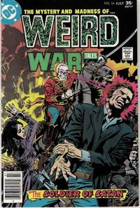 Cover for Weird War Tales (1971 series) #54