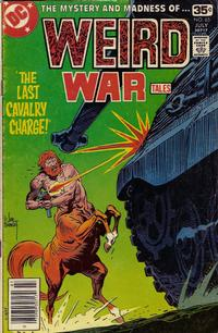 Cover for Weird War Tales (DC, 1971 series) #65