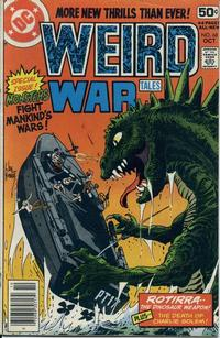 Cover for Weird War Tales (DC, 1971 series) #68