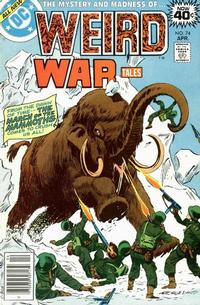 Cover Thumbnail for Weird War Tales (DC, 1971 series) #74