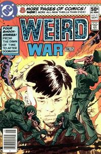Cover for Weird War Tales (DC, 1971 series) #91