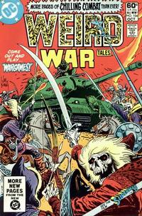 Cover for Weird War Tales (1971 series) #104