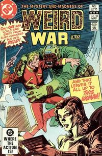 Cover for Weird War Tales (1971 series) #123 [Direct-Sales]