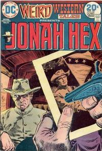 Cover for Weird Western Tales (1972 series) #22