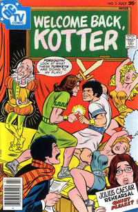 Cover for Welcome Back, Kotter (1976 series) #5
