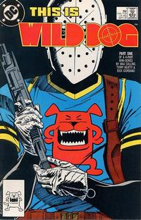 Cover Thumbnail for Wild Dog (DC, 1987 series) #1