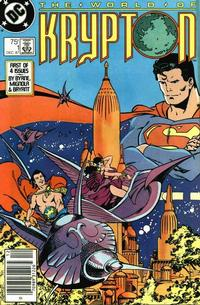 Cover Thumbnail for World of Krypton (DC, 1987 series) #1 [Newsstand Edition]