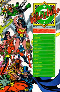 Cover Thumbnail for Who's Who: The Definitive Directory of the DC Universe (DC, 1985 series) #26