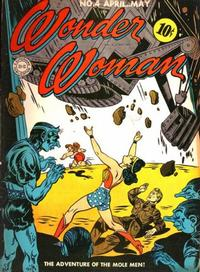 Cover Thumbnail for Wonder Woman (DC, 1942 series) #4