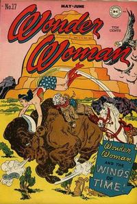 Cover Thumbnail for Wonder Woman (DC, 1942 series) #17
