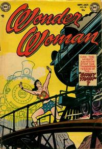 Cover Thumbnail for Wonder Woman (DC, 1942 series) #55