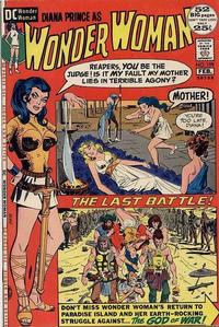 Cover Thumbnail for Wonder Woman (DC, 1942 series) #198