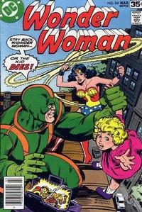 Cover Thumbnail for Wonder Woman (DC, 1942 series) #241