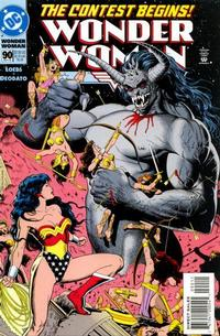 Cover Thumbnail for Wonder Woman (DC, 1987 series) #90 [Newsstand]