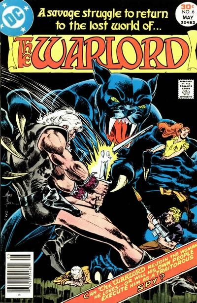 Cover for Warlord (1976 series) #6