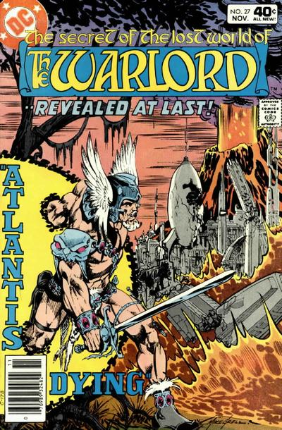 Cover for Warlord (DC, 1976 series) #27