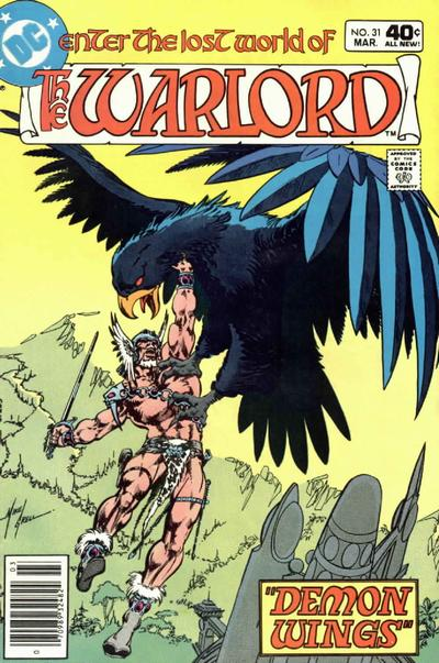 Cover for Warlord (DC, 1976 series) #31