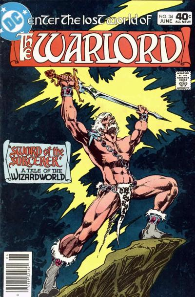 Cover for Warlord (DC, 1976 series) #34