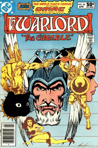 Cover for Warlord (DC, 1976 series) #44 [newsstand]