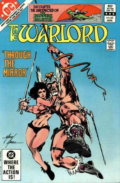 Cover for Warlord (DC, 1976 series) #65 [direct]