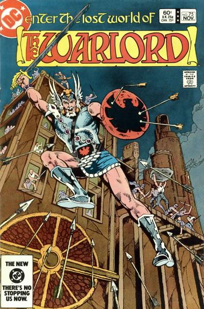 Cover for Warlord (DC, 1976 series) #75 [Direct-Sales]
